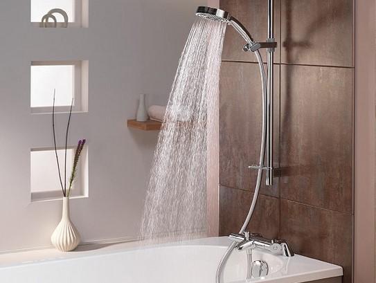 Filter Air Sederhana Hilangkan Klorin di Kamar Mandi Shower