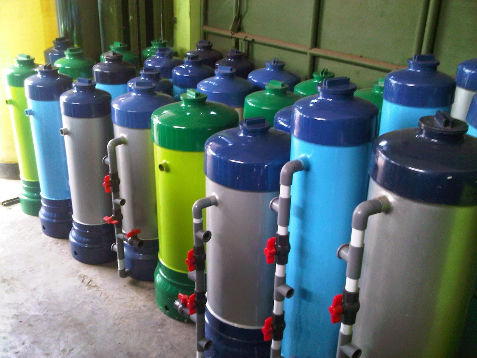 Jenis Tabung Filter Air